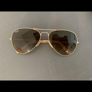 authentic ray-ban women's aviator sunglasses